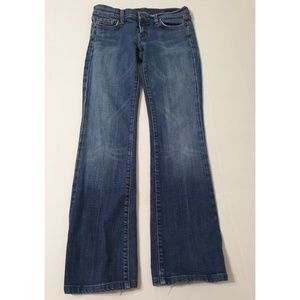 Citizens of Humanity Low Waist Bootcut Jeans 29